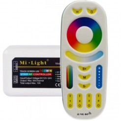 Mi-Light RGB+WW+CW Strip Controller met RF Afstandbediening