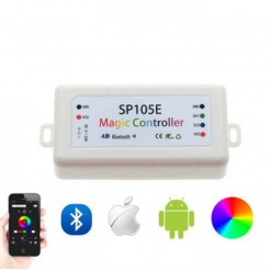 QUALEDY LED Bluetooth Controller SP105E max 2048px 200 effecten