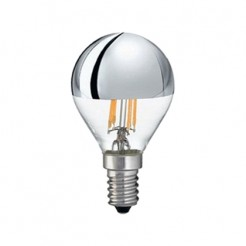 QUALEDY LED E14-Filament Spiegellamp 4W 440Lm 2700K Dimbaar