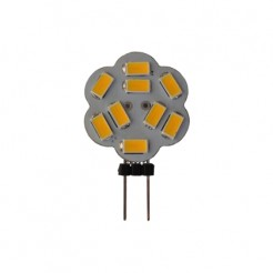 QUALEDY LED G4 Lamp 2.3W 9SMD Sidepin 3000K 360Lm