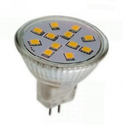QUALEDY LED G4/MR11-spot 2W 12SMD 3000K 150Lm