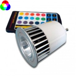 QUALEDY LED GU10 spot RGB 5W incl. AB