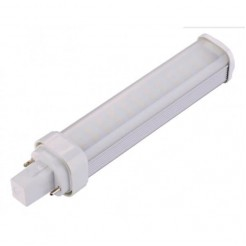 QUALEDY LED PLc G24d 9W 3000K/4000K 135° 158mm Matglas