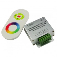 QUALEDY LED RGB Touch Controller (DC12-24V) met Afstandsbediening