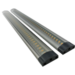 Complete set met 2 LED-bars Touch 3W 12V