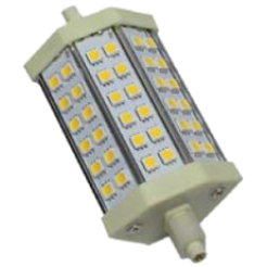 LED R7S-lamp 8W 2700K (3000 Kelvin)